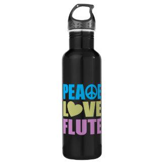 Peace Love Flute 710 Ml Water Bottle