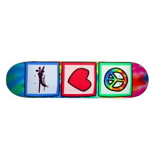 Peace, Love, Flying Skate Deck