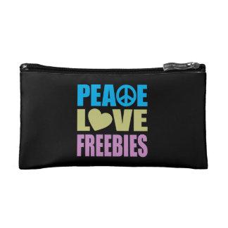 Peace Love Freebies Makeup Bag