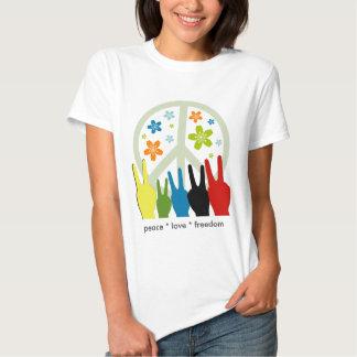 Peace Love Freedom Shirts
