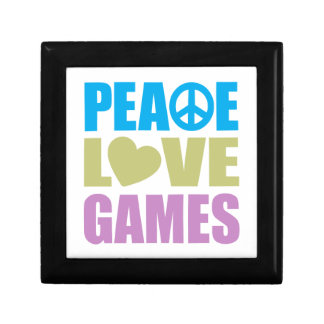 Peace Love Games Trinket Boxes