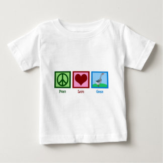 Peace Love Geese Baby T-Shirt