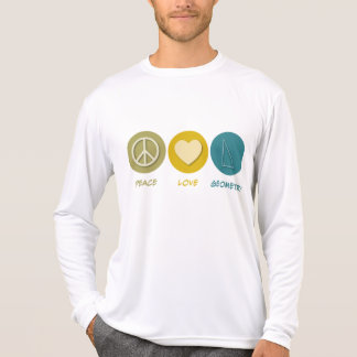 Peace Love Geometry T-Shirt