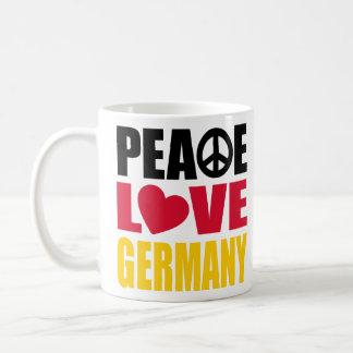Peace Love Germany Mug