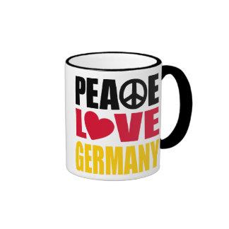Peace Love Germany Coffee Mug