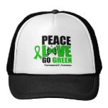 Peace Love Go Green Environment Butterfly Hat