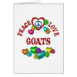 Peace Love Goats Cards