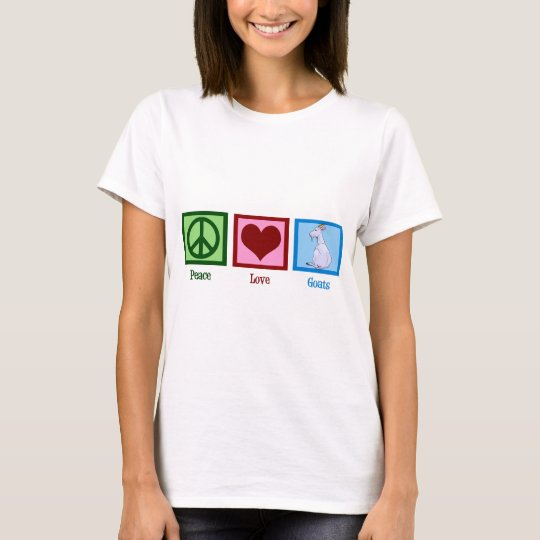 Peace Love Goats T-Shirt