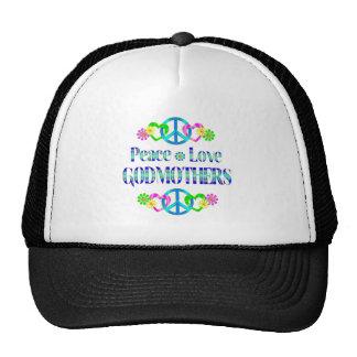 Peace Love Godmothers Trucker Hats