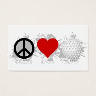 Peace Love Golf Emblem