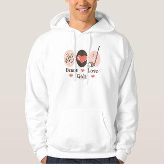 Peace Love Golf Hooded Sweatshirt