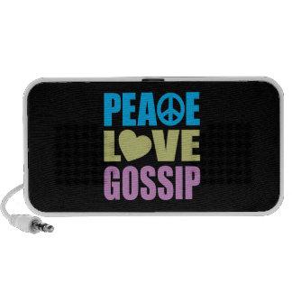 Peace Love Gossip Travelling Speakers
