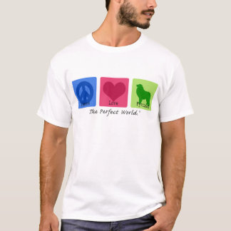 Peace Love Great Pyrenees T-Shirt