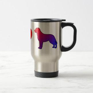 Peace Love Greater Swiss Mountain Dogs Coffee Mugs
