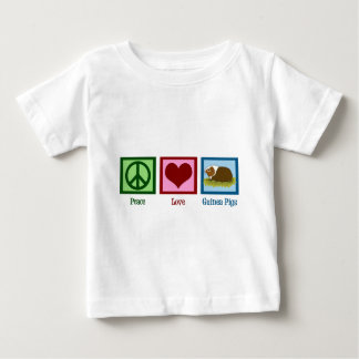 Peace Love Guinea Pigs Tshirts