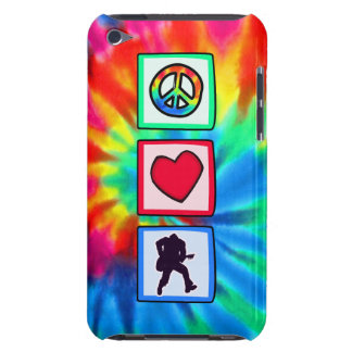 Peace Love Guitars Barely There iPod Case