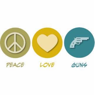 Peace Love Guns Photo Sculptures