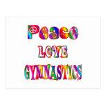 Peace Love Gymnastics Post Cards