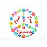 Peace Love Gymnastics Postcards