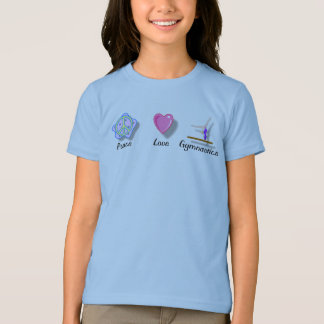 Peace Love Gymnastics T-Shirt