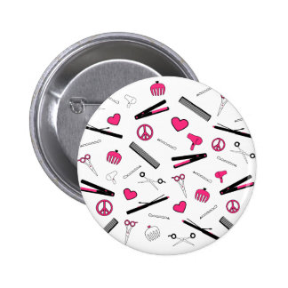 Peace, Love, & Hair Accessories (Pink) Pin