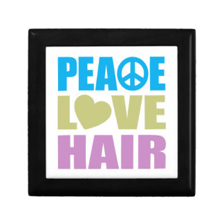 Peace Love Hair Jewelry Boxes