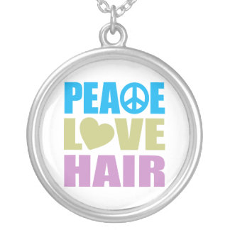 Peace Love Hair Necklaces