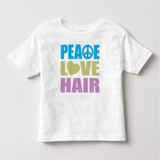Peace Love Hair Toddler T-Shirt