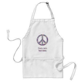 Peace Love Happiness 5 Standard Apron