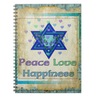 Peace Love Happiness Note Book