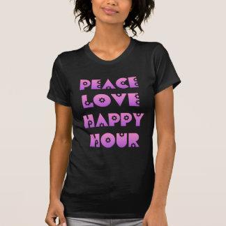 Peace, Love & Happy Hour Tshirt