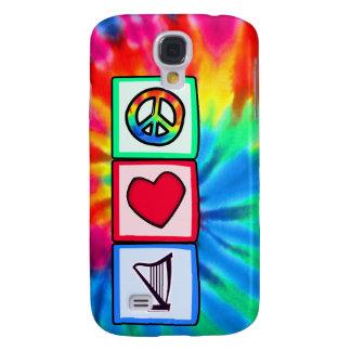 Peace, Love, Harps Samsung Galaxy S4 Case