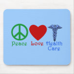 Peace Love Healthcare Products Mousepad