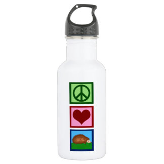 Peace Love Hedgehogs 532 Ml Water Bottle