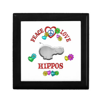 Peace Love Hippos Gift Box