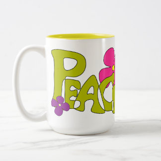 Peace & Love Hippy Mug