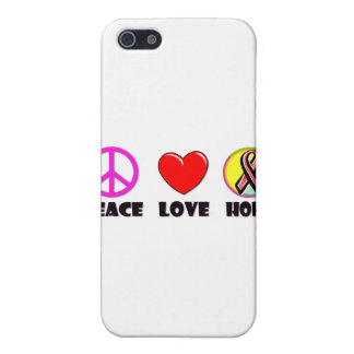Peace Love Hope Case For iPhone 5/5S