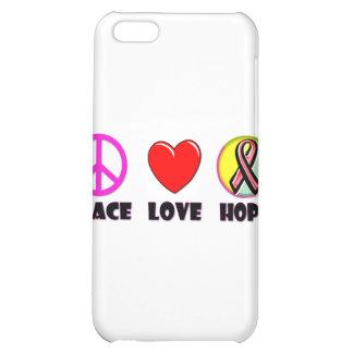 Peace Love Hope iPhone 5C Case