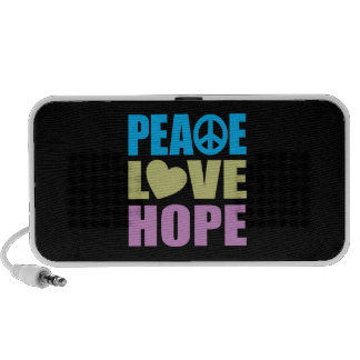 Peace Love Hope PC Speakers