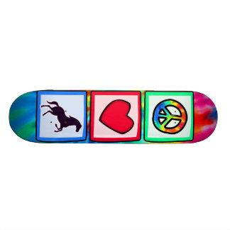 Peace, Love, Horses 18.1 Cm Old School Skateboard Deck