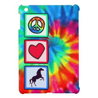 Peace, Love, Horses Cover For The iPad Mini