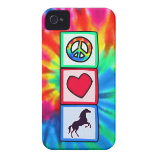Peace, Love, Horses iPhone 4 Case