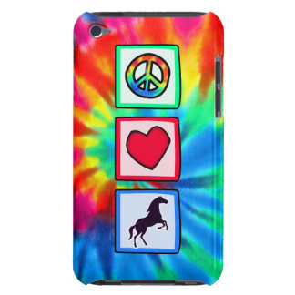 Peace, Love, Horses iPod Touch Case