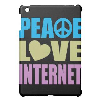 Peace Love Internet iPad Mini Cases