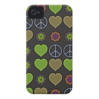 PEACE & LOVE iPhone 4 CASE