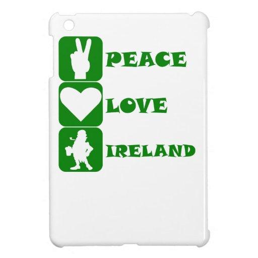 Peace Love Ireland iPad Mini Case
