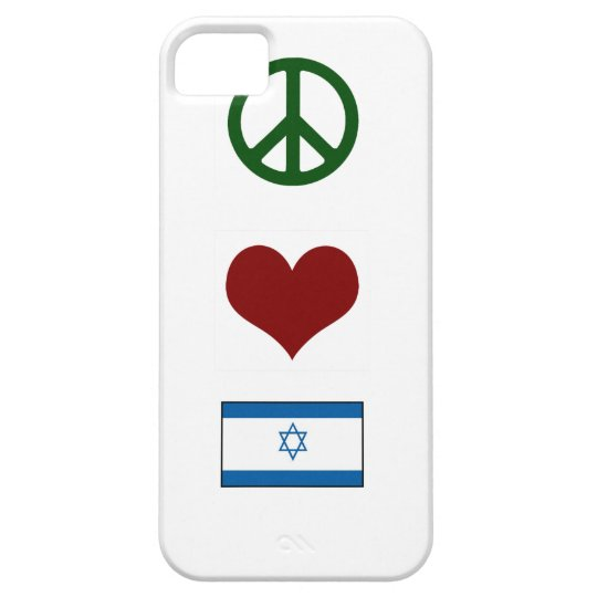 Peace Love Israel iPhone 5 Covers