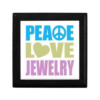 Peace Love Jewelry Small Square Gift Box