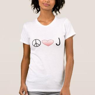Peace Love Jonas T-Shirt