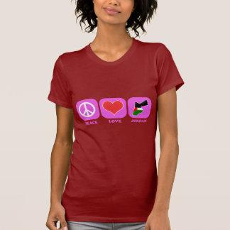 Peace Love Jordan T-Shirt